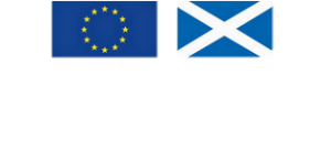 European Union gov.scot Europe and Scotland Euroopean Regional Development Fund Investing in a Smart, Sustainable and Inclusive Future logo